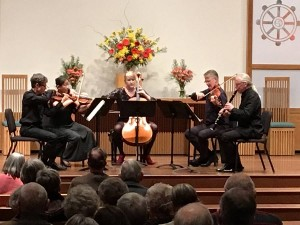 3/5/18 - Allan Ware & the Ciompi String Quartet