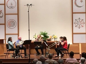 4/18/19 - Diamond Brass Quintet