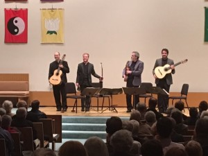 10/3/16 - Brazilian Guitar Quartet