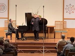 3/9/20: Piano & Baritone